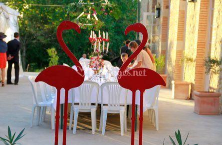 Espace pour les mariages