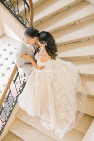 Wedding dusty blue by LBB