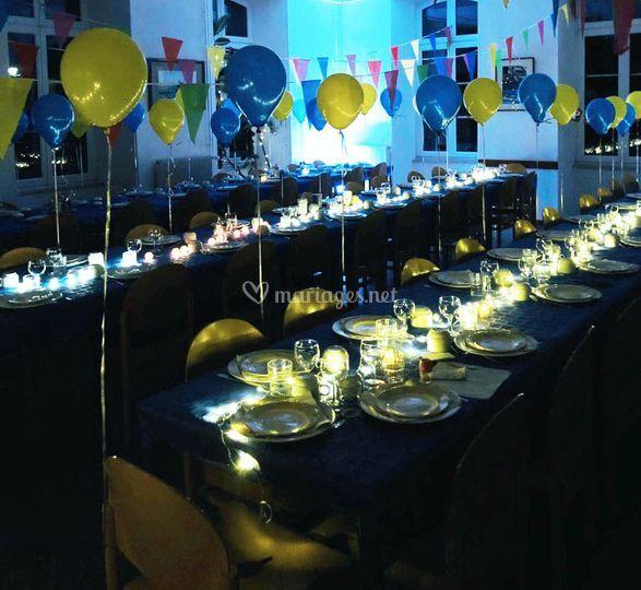Décoration tables mariage