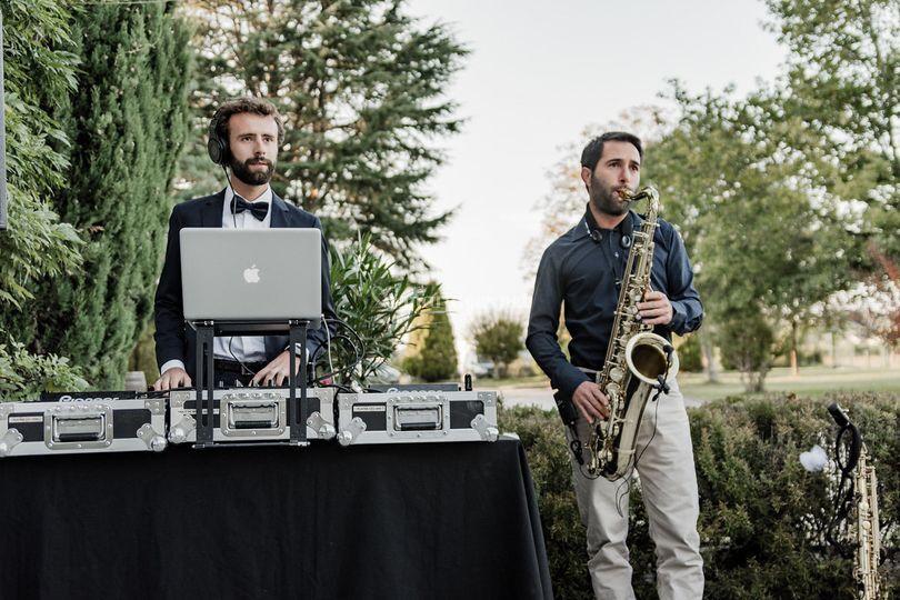 Cocktail Saxophoniste