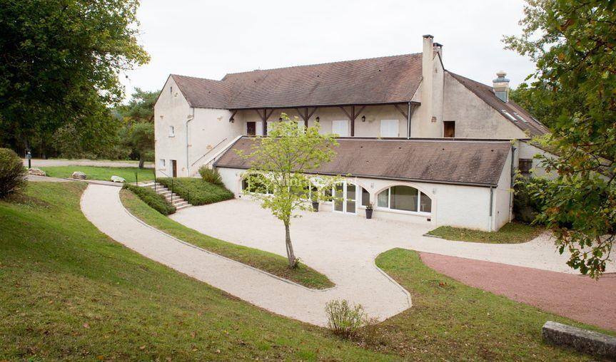 Terrase salle caveau