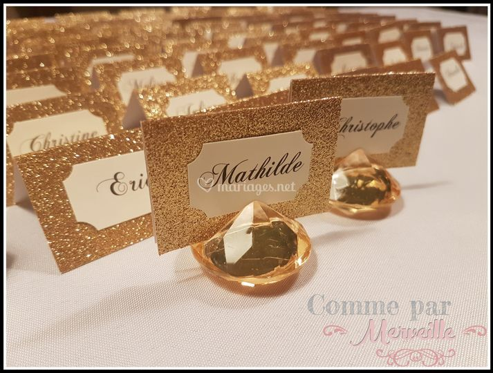 Mariage Nature chic et or