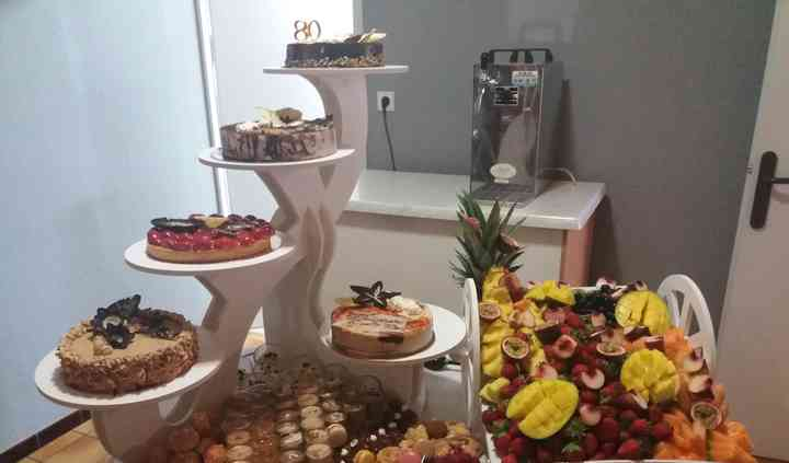 Buffet de gateau