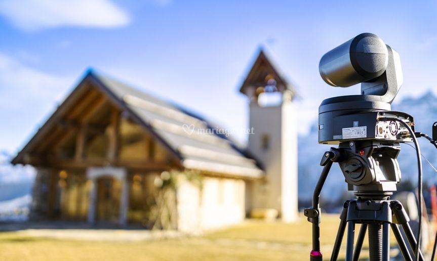 Caméra 4K extérieure
