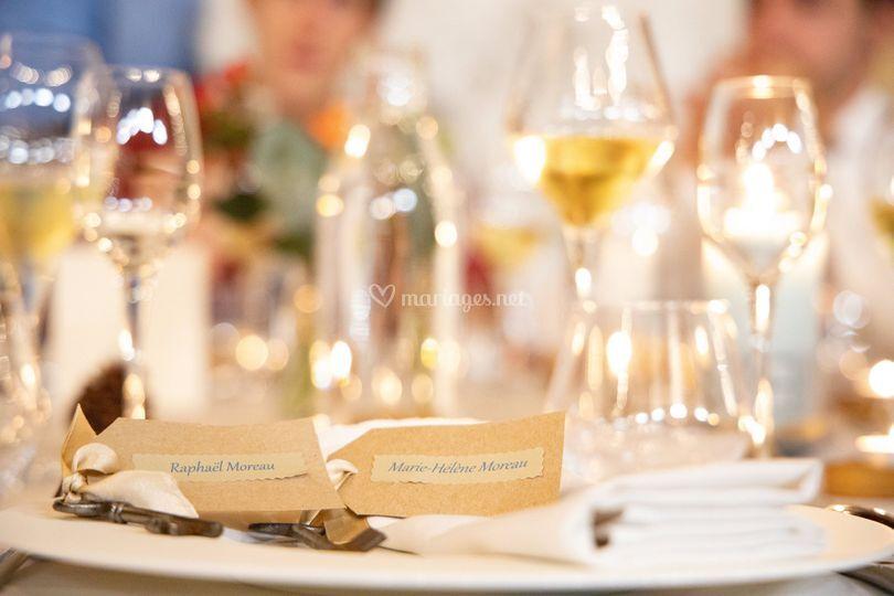 Noms de tables