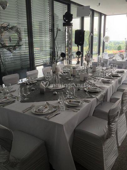 Restaurant mariage