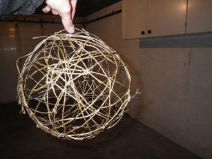 Tutoriel boules de fils pour suspension