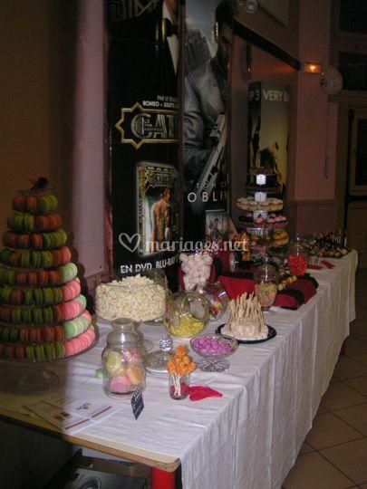 Candy bar 4 mètres