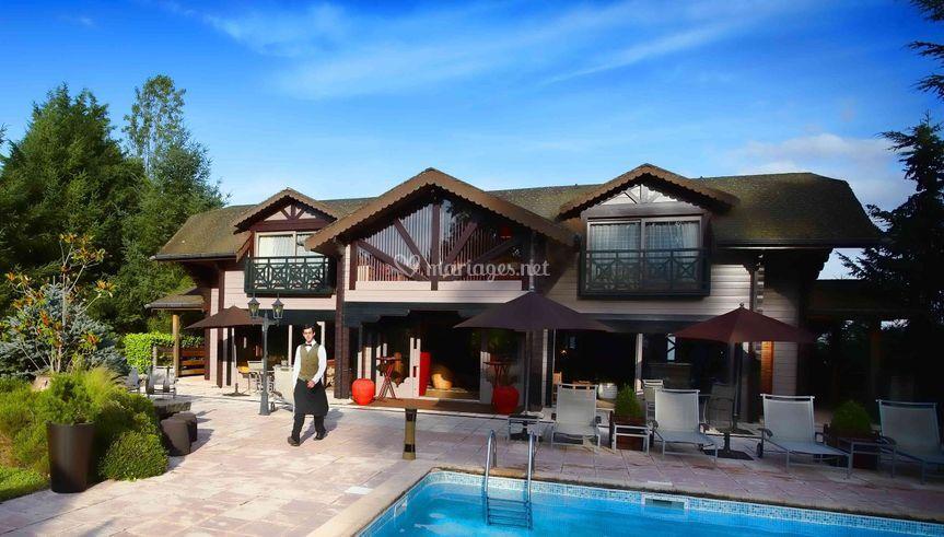 Cottage piscine