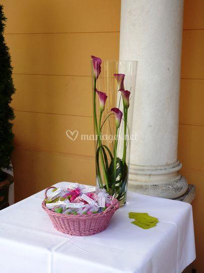 Grands vases pour buffet