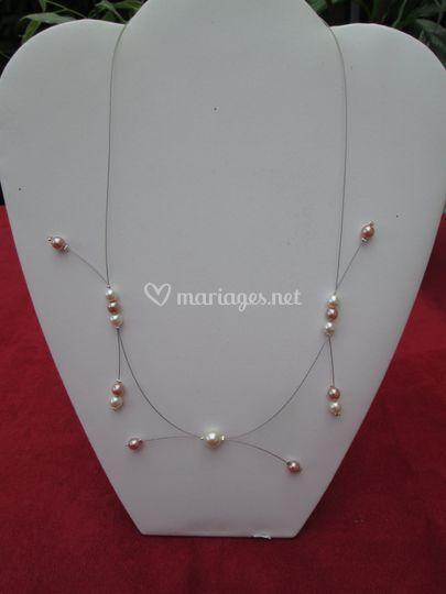Modèle 004beige rosé ivoire