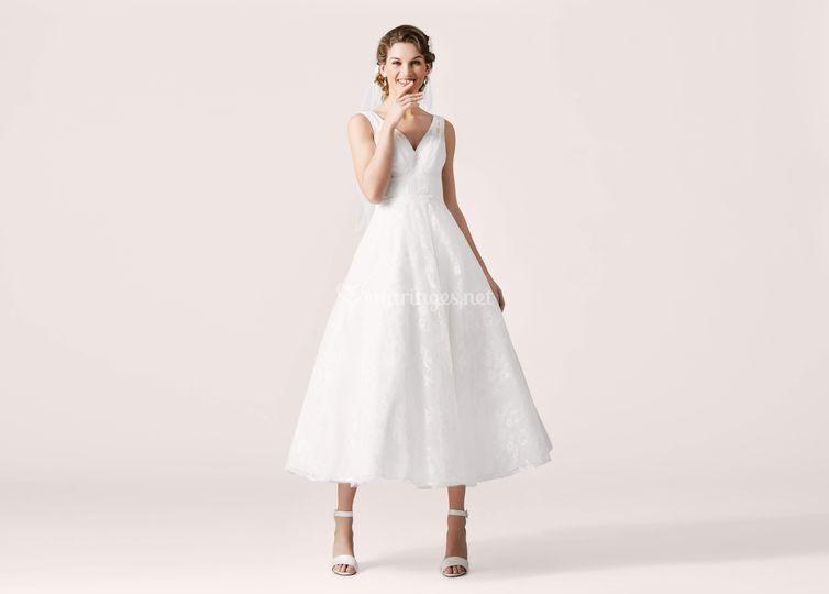 Votre robe de mariée courte