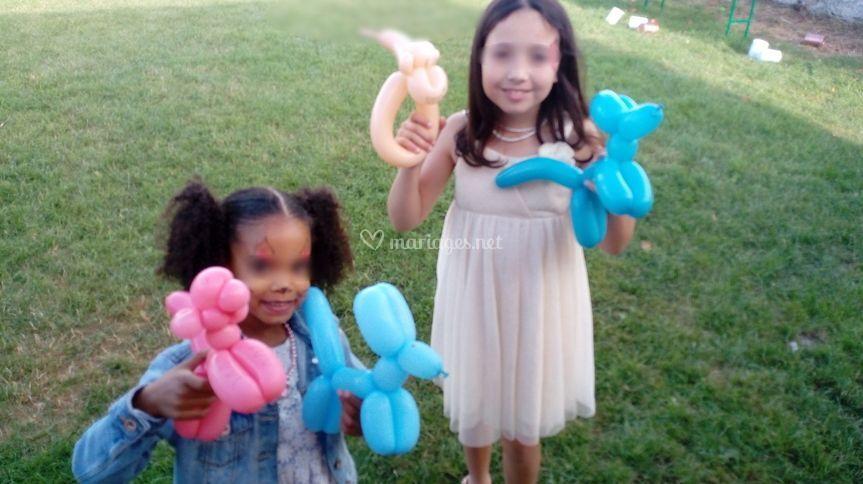 Sculpture ballons