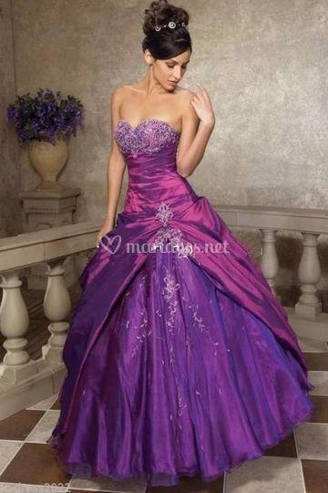 Robes de mariée couleur !