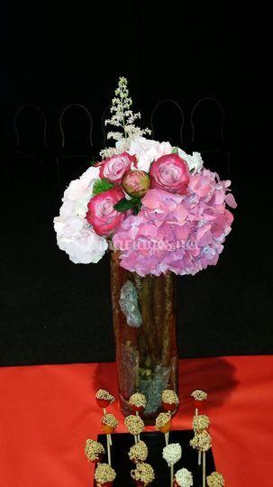Bouquet haut banquet