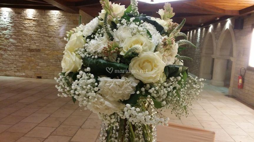 Bouquet rond haut