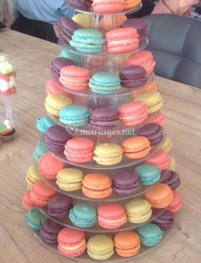 80 macarons