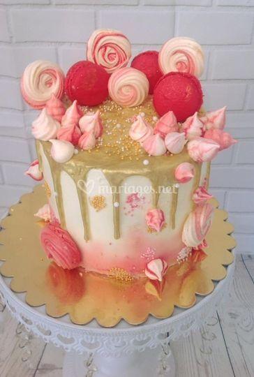 Drip cake 10 parts