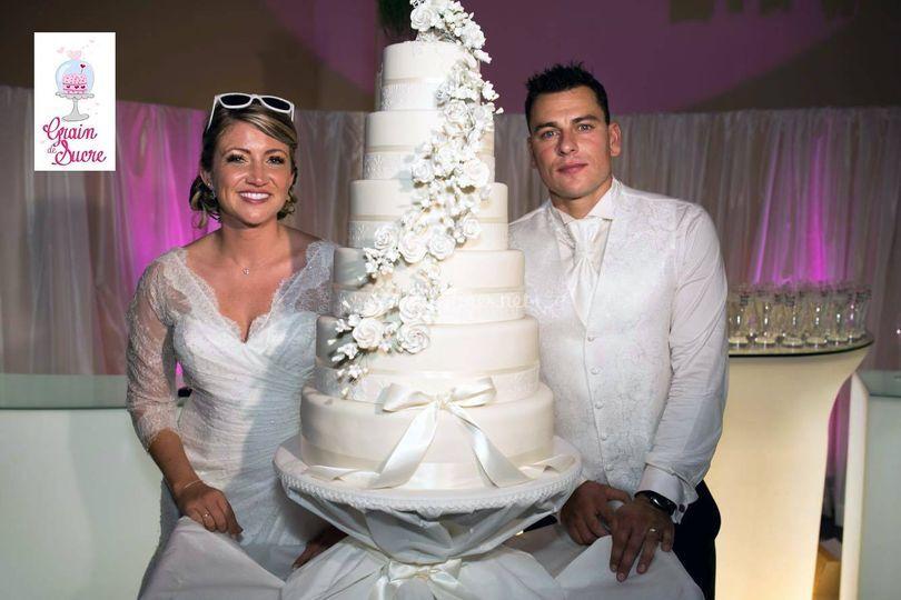 Wedding cake  flower