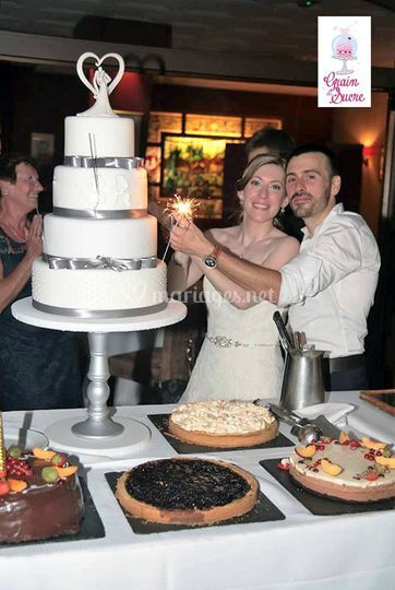 Wedding cake pur