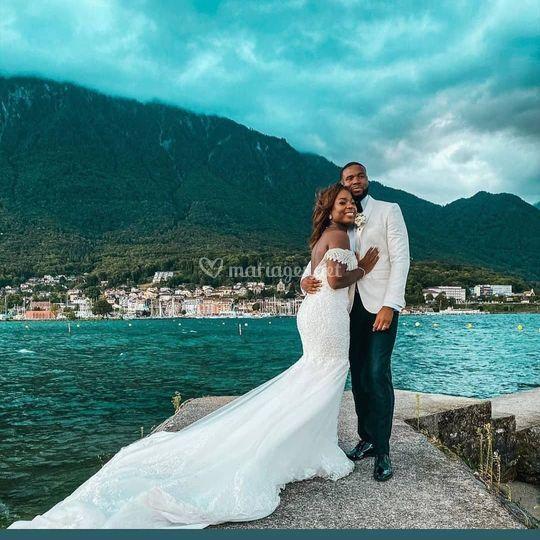 Mariage en bord de Lac...
