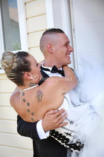 Le porté de la mariée