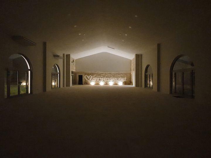 Salle de réception de nuit