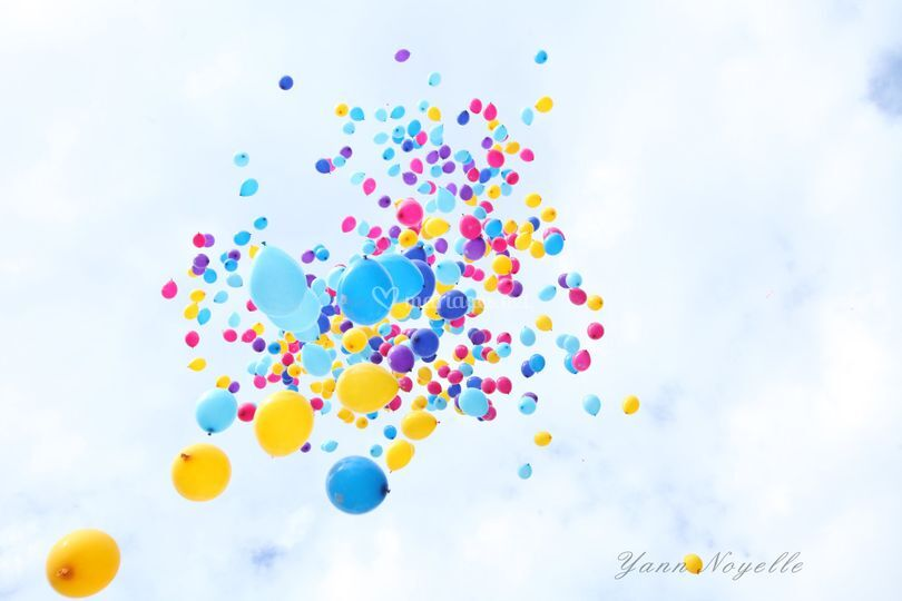 Animation lacher de ballons