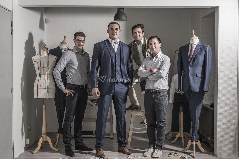 L'équipe Atelier Blatin