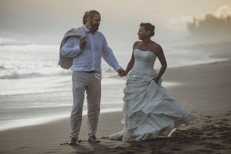 Séance de trash the dress