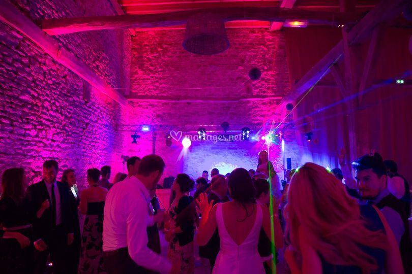 Soirée dansante sur RP Events