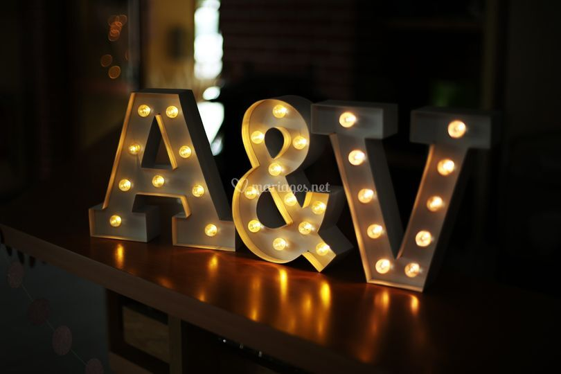 Mariage de A & V