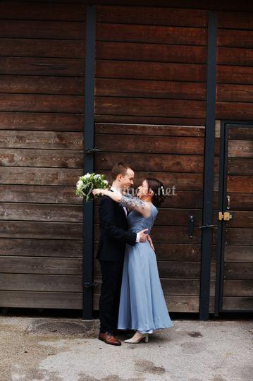 Robe thème Blue dress