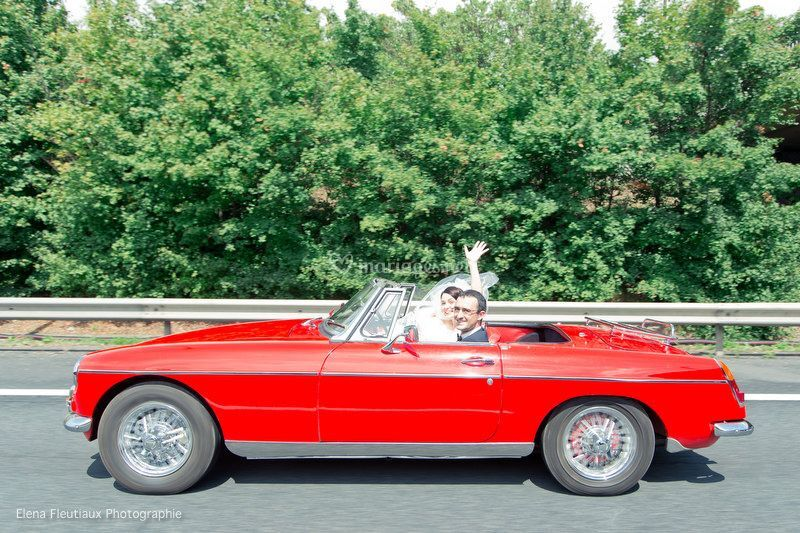 MGB on the road