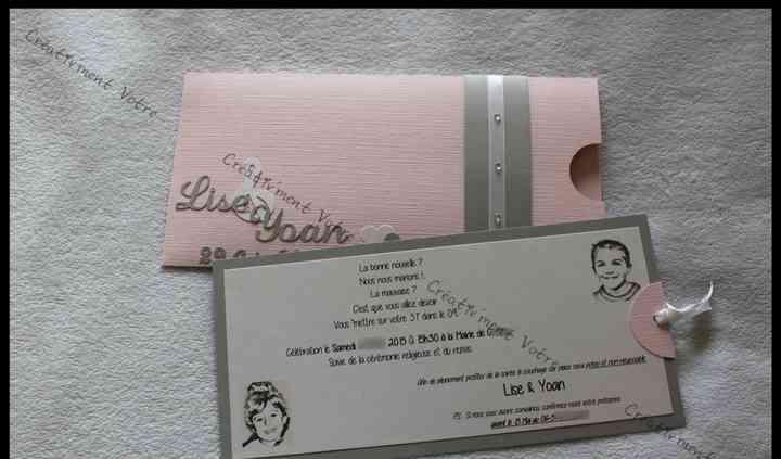 Faire Part Mariage Enveloppe