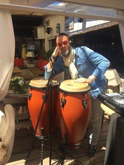 Set percussions