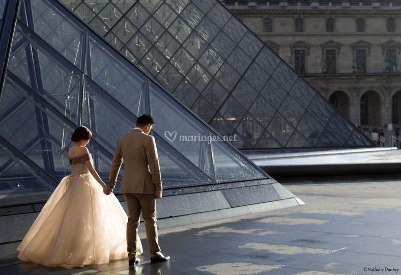 Les mariés du Louvre
