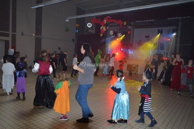Danse avec les enfants