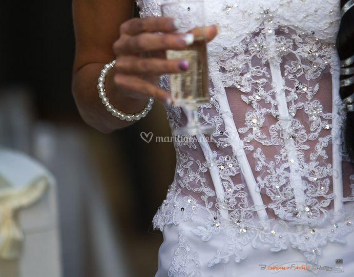 Bustier mariée
