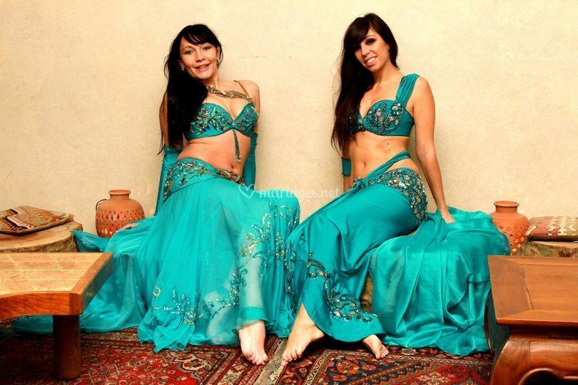 Duo Costume Turquoise