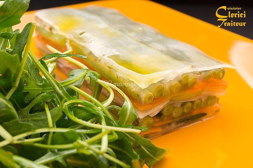 Clerici cuisinier traiteur for Cuisinier 3 etoiles legumes