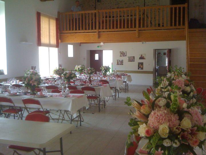 La salle intérieur