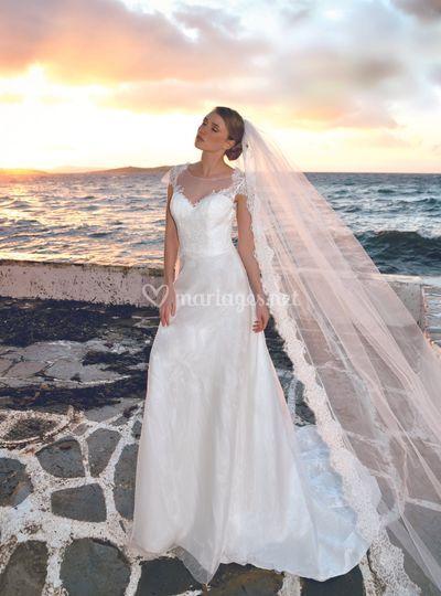 Robe de mariée Jersey