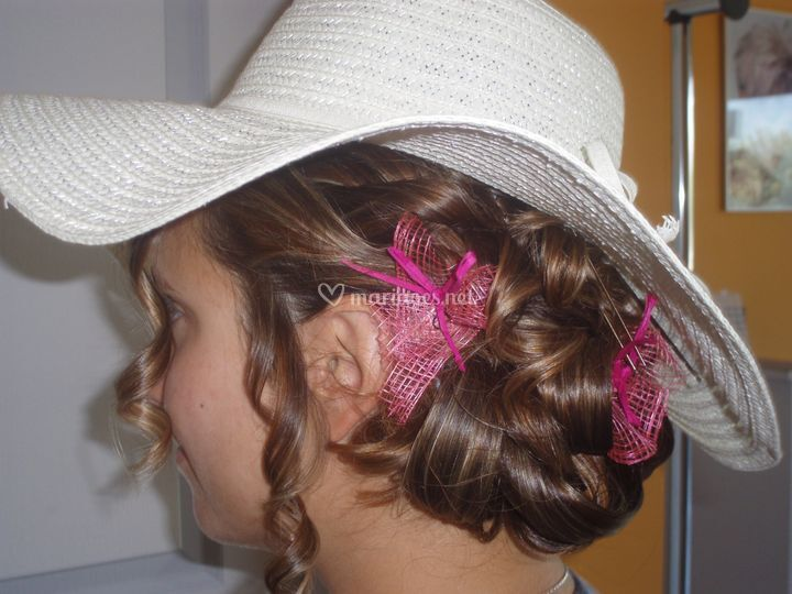 pyramide coiffure - Location Voiture Mariage Franche Comt