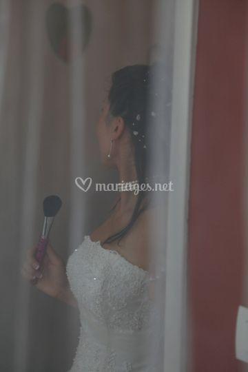 Mariage en Essonne - photo volée