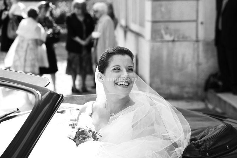 Photo de mariage en Essonne - la mari�e sur JLS Photographies