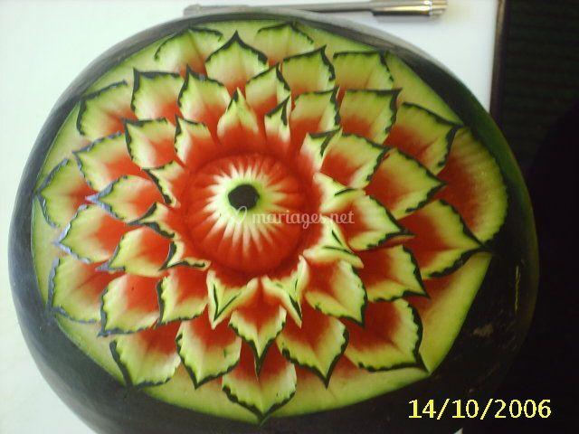 fleur de past que de sculpture sur fruits et l gumes photo 11. Black Bedroom Furniture Sets. Home Design Ideas