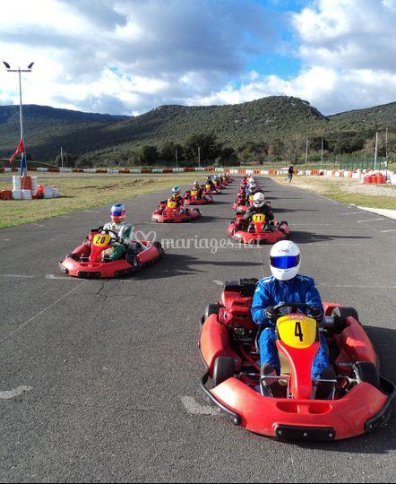 Nos activités : karting