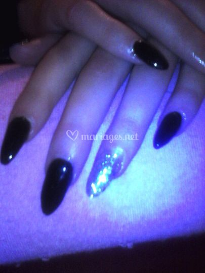 Pose d'ongles en gel ultra