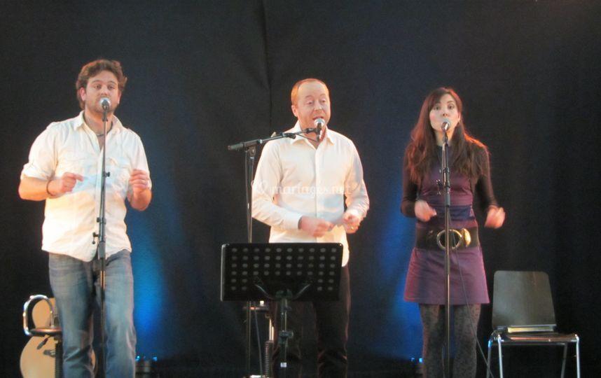 Trio Vocal live